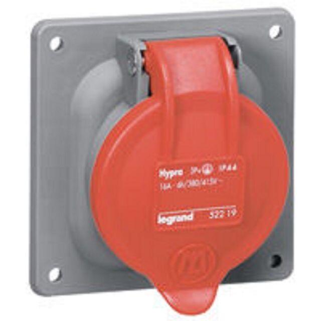 Socle tableau Prisinter Hypra  IP44-32 A  6H-380V~ 3P+N+T 52904 LEGRAND