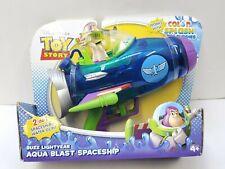 Disney Pixar Toy Story Buzz Lightyear Aqua Blast Spaceship Mattel 2011