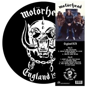 Motorhead England 1978 [NEW] LIMTED ED PICTURE DISK 889466201011 - 05274
