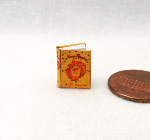 1:24 Scale Book MARY POPPINS Miniature Book Dollhouse 1/2 Scale Book