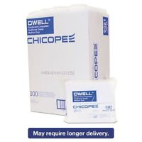 Dwell Healthcare Towels, White, Polyester, 12 X 13, 300/carton - Chi0021