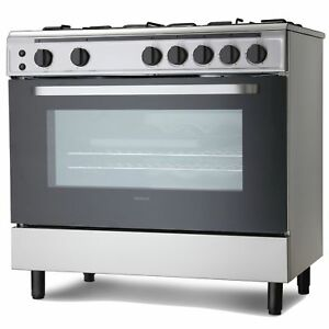Servis sg900x 90cm gas range cooker in stainless steel large image is loading servis sg900x 90cm gas range cooker in stainless publicscrutiny Images
