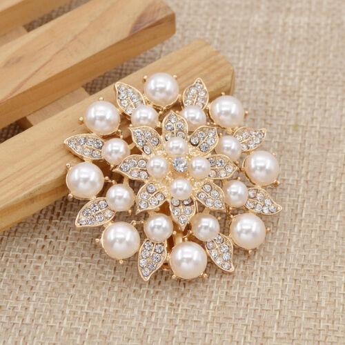 Perlen Strass Schuhe Clip Hochzeit Brautdekoration Elegante Blume Schmuck 1 Stk