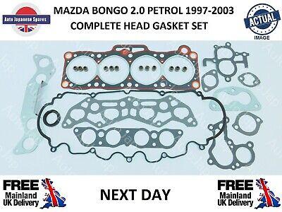 completo Mazda Bongo 1995-2006 2.0 gasolina cabeza junta conjunto entrega al día siguiente