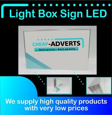 45x45 Box Sign Illuminated Water cm Projecting Proof Shop Light OOzq0