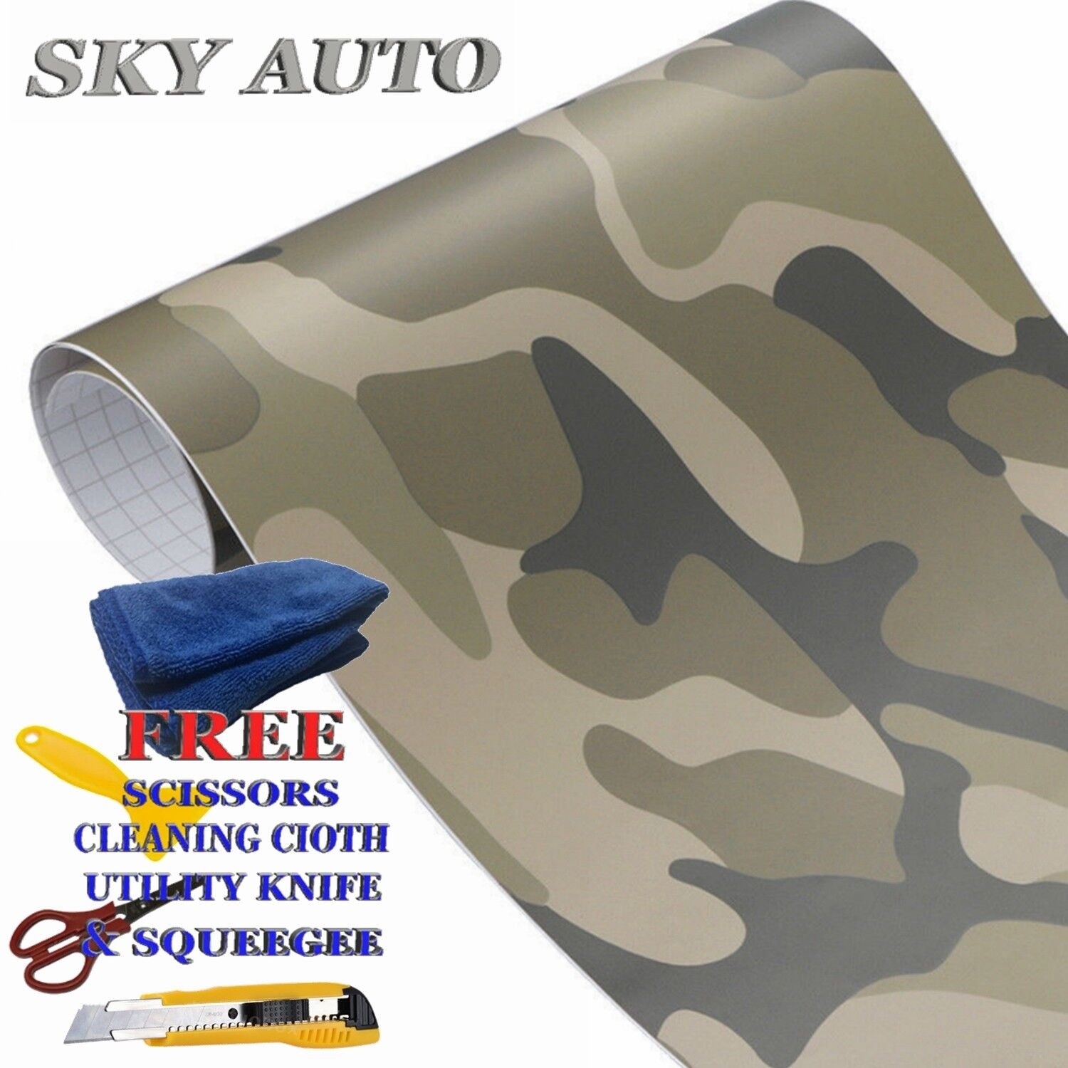 "108/"" x 60/"" Silver Chrome Mirror Vinyl Film Wrap Sticker Stretchable 9ft x 5ft"