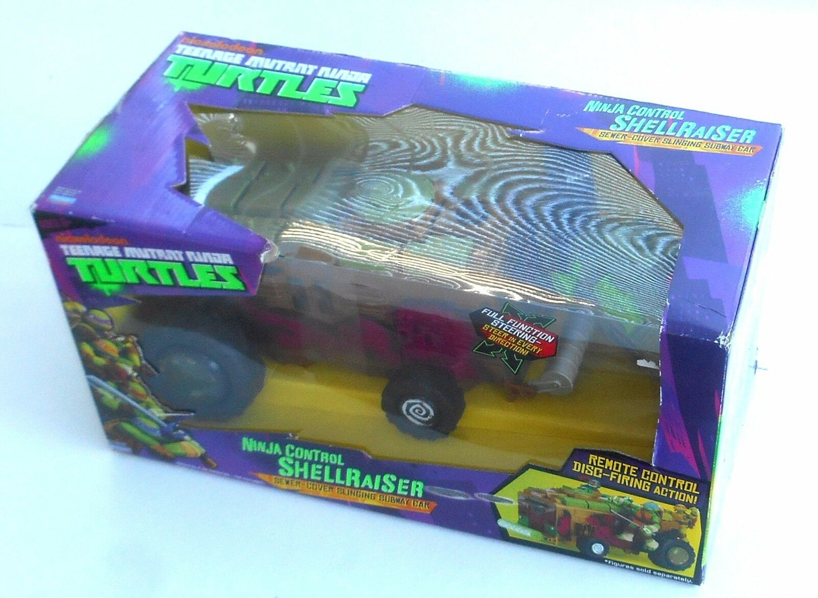 2013 Playmates / Flair  TMNT  Ninja Control Shellraiser  New MIB MOC