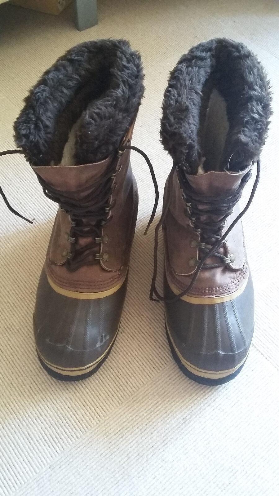 Sorel Stiefel  Dominator  Winterstiefel wasserdicht Leder Kanada Gr. 7 bzw 40 5