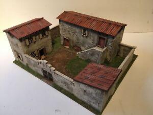 'Commission' du modèle de villa espagnol / italien de 28 mm