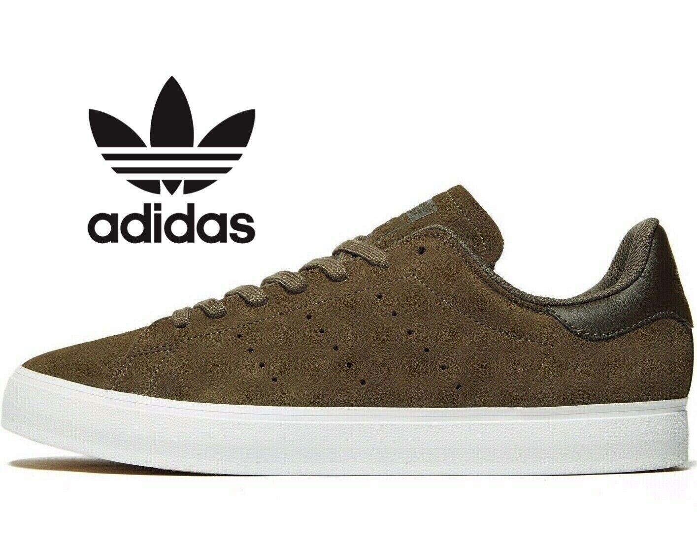 Adidas Originals Stan Vulc ® (Hombres Tallas Smith Reino Unido  6 7 7.5) rama olivo de carga