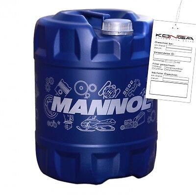 20 Liter MANNOL 2-Takt Plus TC Motoröl Motorradöl Motor ÖL 4036021161648