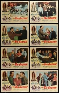 THE-BIG-GUSHER-Dorothy-Patrick-1951-SET-OF-8-ORIGINAL-MOVIE-LOBBY-CARDS-11-x-14