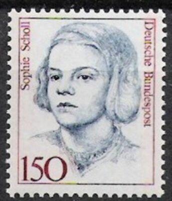 Postfrisch Exzellente QualitäT Bund Nr.1497 ** Freimarke Frauen 1991 Geschichte