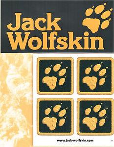 Zu Wolfskin 2 Jack Aufkleber Details NPnkX08wO