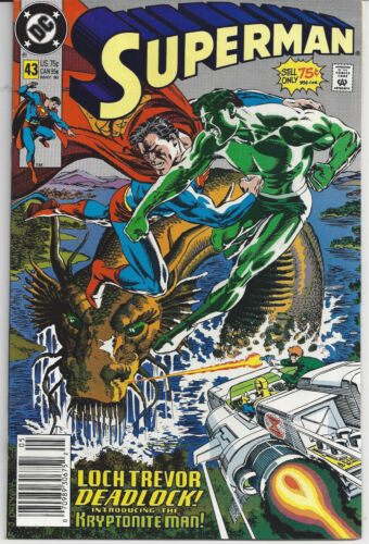 1990 DC Superman  39 40 41 42 43 44 45 46 47 48 49 50 NM//VF  SM8623