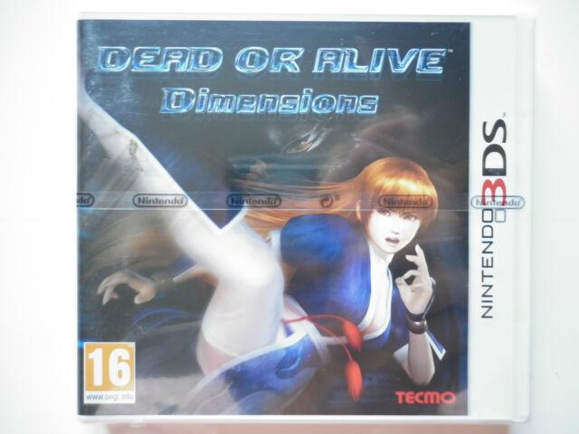 Dead or Alive Dimensions Jeu Vidéo Nintendo 3DS