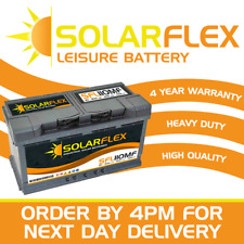 12V 100AH/110AH Leisure Battery DEEP CYCLE for Motorhome / Caravan / Campervan
