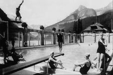 556052 Chateau Lake Louise 1935 Photographer Unknown 29447 A4 Photo Print