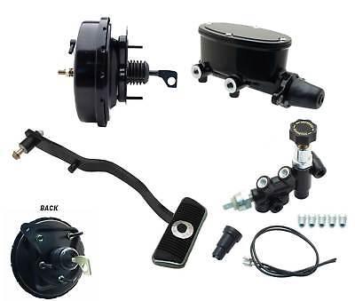 """1967-70 Ford Mustang 9/"""" Power Brake Booster Kit /& Brake Pedal 2 Wheel Disc Brake"""