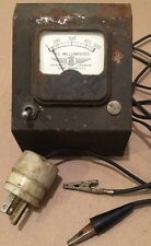 Merc O Tronic Instruments Corp AC Milliamperes 0-500 Gauge Tested Panel Meter