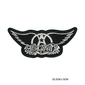 AeroSmith-Music-Band-Sew-on-Iron-on-Patch-Badge-Embroidered-for-Clothes-Bags-etc