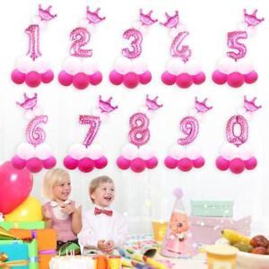 13pcs-Set-Numeros-Nombre-Ballon-a-Gonfler-Feuille-Anniversaire-Deco