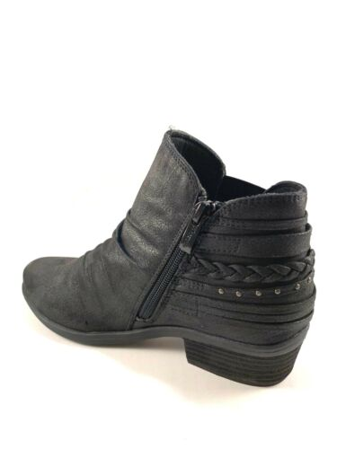 Wanted Pierce Low Heel Ankle Round Toe Booties Choose Sz//Color