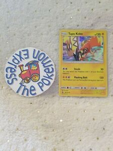 85//214 Holo Rare Pokemon SM8 Lost Thunder M//NM x1 Tapu Koko