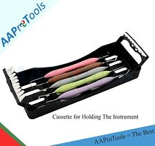 Dental Composite Filling Instruments Silicon Handle With Cassette Usa Dn 2285