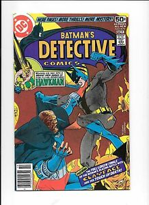 Detective-Comics-479-October-1978-Batman-3rd-Clayface-Hawkman-44-pages