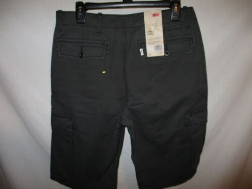 Levi's 100/% Cotton Dark Gray Flat Cargo I Shorts SR$50 NEW