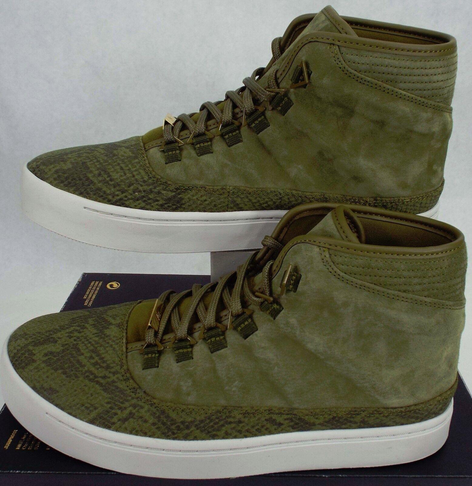 New Mens 10.5 NIKE Air Jordan Westbrook 0 Suede Leather shoes  768934-305