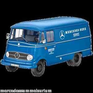 Mercedes-Benz-Transporter-L-319-034-Service-034-Bleu-1-18-Neuf-Emballage-D-039-Origine