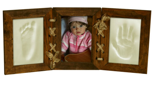 Memories Factory © Baby Picture Frame Foot /& Hand Clay Casting Kit Made In EU