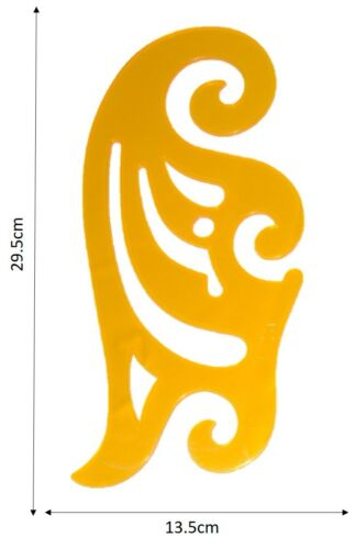 French Ship Curves Curve Drawing Drafting Template Stencil-FASHION DESIGN