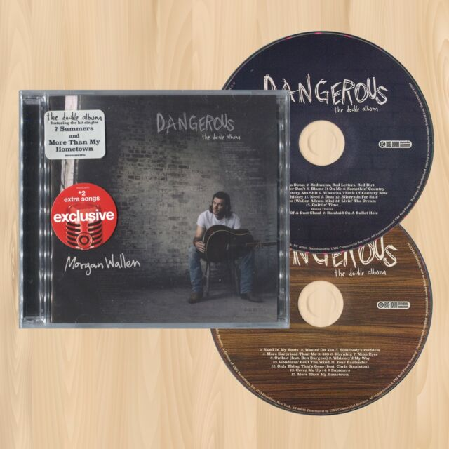 +2 BONUS TRACKS----> MORGAN WALLEN Dangerous: The Double Album EXCLUSIVE CD 0305