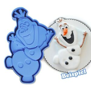 Eiskönigin Silikonbackform Olaf Frozen Silikon Kuchenform 30cm Geburtstagskuchen