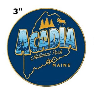 Acadia National Park Embroidered Patch Iron or Sew-on Travel Souvenir Series