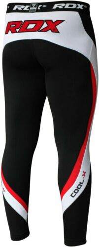 RDX Kompressionshose Base Layer Laufhose Funktionswäsche Leggings Training Hose