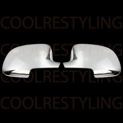For Chevy Silverado 1500//2500//3500 99-06 Chrome Full Mirror Covers