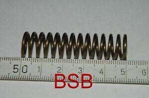 1 Stk. Druckfeder L= 50mm , Ø 12mm , Metallfeder .. Spiralfeder .. Federstahl