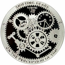 T.I.M.E. Series Shifting Gears Coin 1 Oz. .999 Proof Like Bullion - IN-STOCK!!