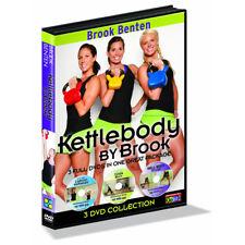 GoFit Kettlebody Workout by Brook Benten 3 DVD Collection Disk Set