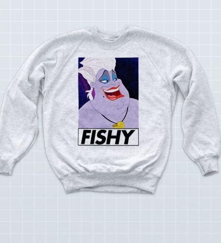 Fishy Ursula Sweatshirt Realness Serving LGBT Pride Mermaid Jumper Princess Top