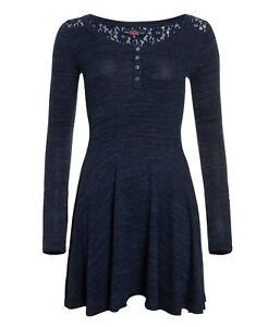 Superdry Vestido Peggy Grandad Skater Dress Belle Size S/10
