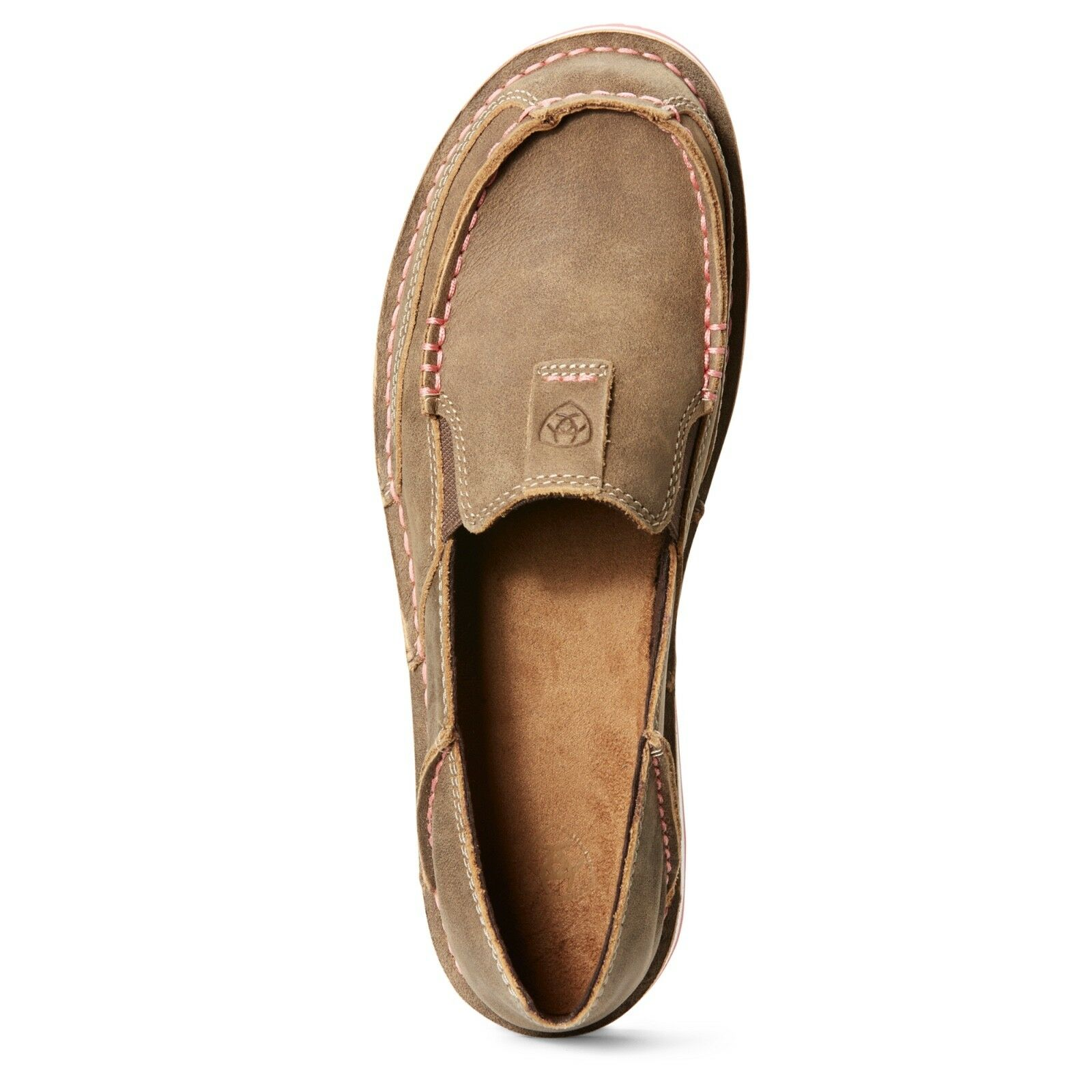 Ariat® Ladies Cruiser Brown Bomber & & & Pink Slip-On shoes 10027356 7fbc24