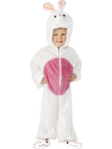 KIDS BUNNY RABBIT FANCY DRESS COSTUME BOYS GIRLS CHILDRENS ANIMAL OUTFIT SUIT