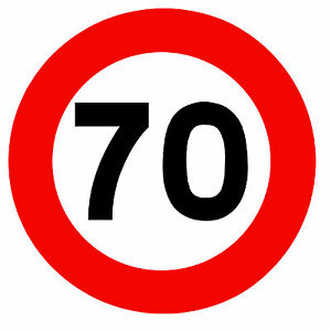 road signs 70 mph speed limit novelty fridge magnet brand new