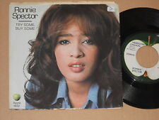 """RONNIE SPECTOR -Try Some, Buy Some- 7"""" 45  auf Apple (Beatles)"""