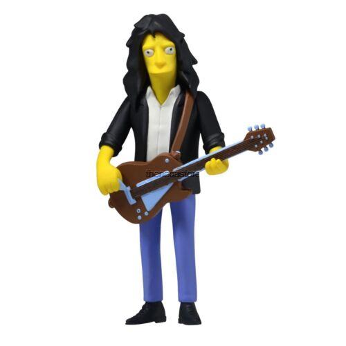 "The Simpsons 25th Anniversary 5/"" Figure Series 4 Joe Perry Aerosmith NECA"